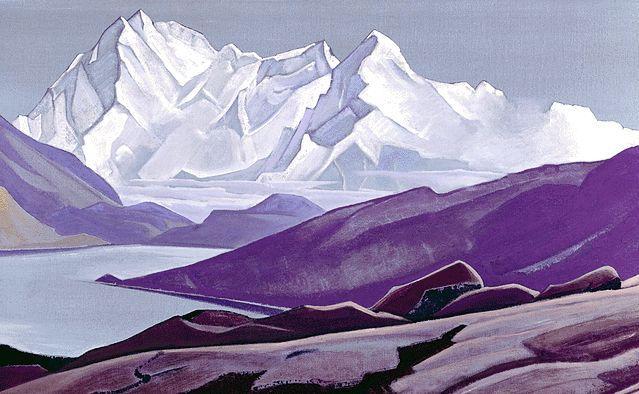 Н.К. Рерих. Священные Гималаи. 1934